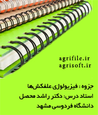 فیزیولوژی علفکش ها ـ دکتر راشد محصل (دانشگاه فردوسي مشهد)