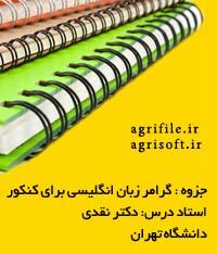 جزوه گرامر زبان انگليسي ـ دكتر نقدي (دانشگاه تهران)
