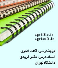 جزوه آفات انباري (دانشگاه زنجان)